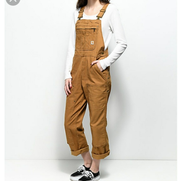ac4984c7522 Carhartt Jeans   Womens Crawford Overalls New With Tags   Poshmark